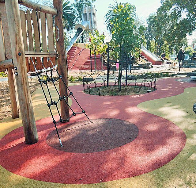 32 18 19 Playground Protective Surfacing