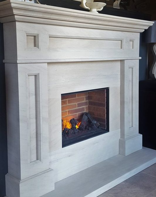 Manufactured Fireplace