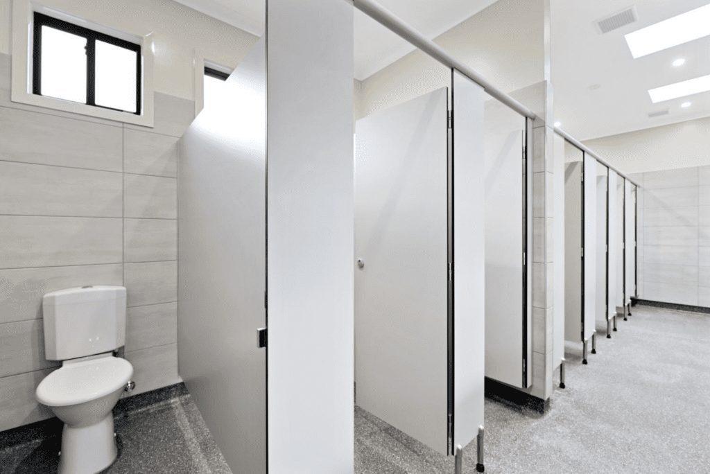 Plastic Laminate Clad Toilet Compartments